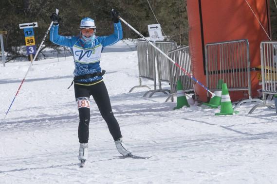 Les efforts ont été récompensés pour plusieurs centaines de skieurs, au Tour du mont Valin. (Photo Le Progrès-Dimanche, Michel Tremblay)