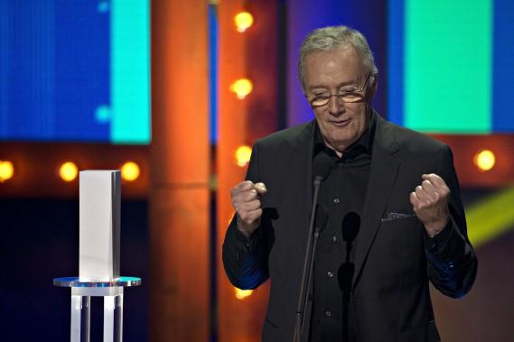Gilbert Sicotte a remporté le Trophée du meilleur acteur.PHOTO OLIVIER JEAN, LA PRESSE ()
