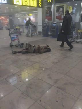 À l'aéroport (Ketevan Kardava/ Georgian Public Broadcaster via AP)
