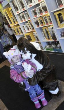 Jasmine Bolduc, quatre ans, a demandé à sa grand-mère Marcelle de lui acheter
