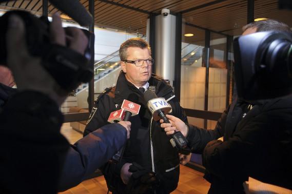 Le porte-parole de la Sécurité publique de Saguenay Bruno Cormier. (Photo Le Quotidien, Rocket Lavoie)