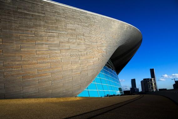 La piscine olympique des JO de 2012 à Londres (AP, John Walton)