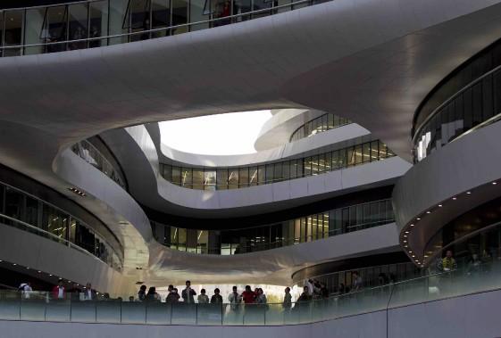 Le Galaxy Soho de Pékin (Archives AP, Andy Wong)