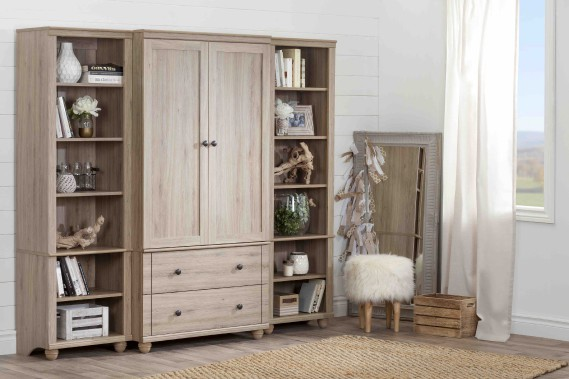 South shore au salon du meuble high point market mich le for Armoire de rangement salon