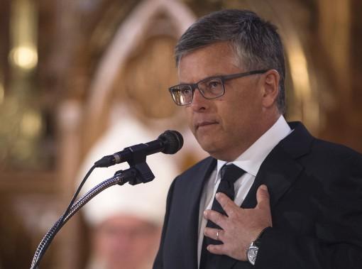 Le journaliste Paul Larocque (La Presse Canadienne, Joël Lemay)