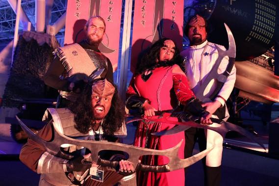 Un gala a été organisé jeudi soir pour lancer l'exposition<i>Star Trek: l'expérience Académie de Starfleet</i>. (Étienne Ranger, LeDroit)