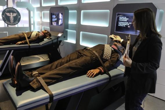 L'exposition<i>Star Trek: l'expérience Académie de Starfleet</i>comptesept thématiques. (Patrick Woodbury, LeDroit)