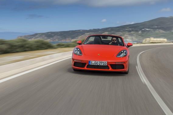 Banc d'essai Porsche 718 Boxster : mutation réussie