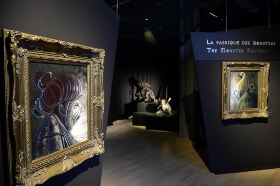 Faites connaissance avec madame et monsieur Rat, un charmant couple imaginé par l'artiste saguenéen Pascal Picard. (Photo Le Progrès-dimanche, Jeannot Lévesque)