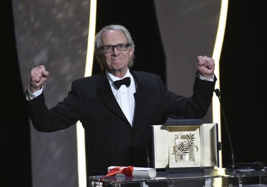 Le cinéaste britannique Ken Loach a reçu la Palme d'or pour son film <em>Moi, Daniel Blake</em>. (AFP)