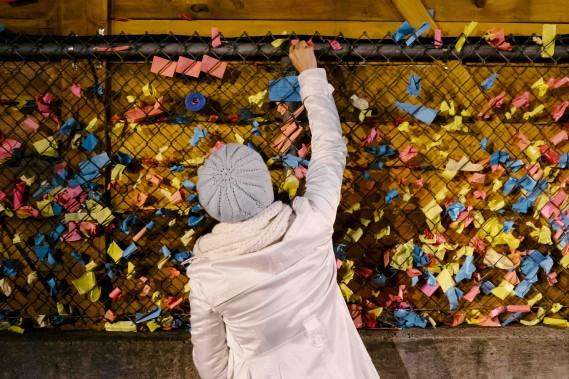 5. <i>LE DÉSORDRE.</i><strong><i></i></strong>Par Les Écornifleuses: invitation à ne rien faire dans une zone de désordre où la folie est permise. (Dans la cour de l'ancienne école Saint-Louis-de-Gonzague) (Renaud Philippe)