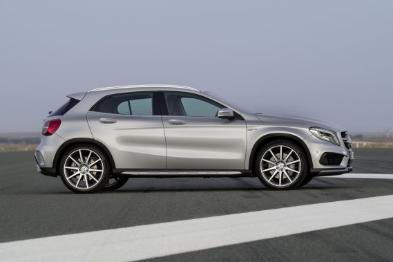 Mercedes: quatre autos électriques d'ici peu?