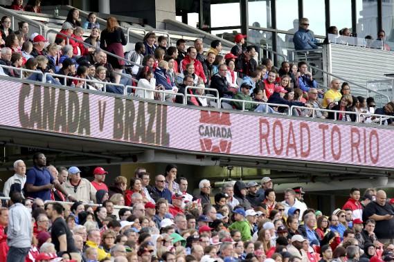 Dernier match préparatif en sol canadien avant les Olympiques. (Patrick Woodbury, LeDroit)