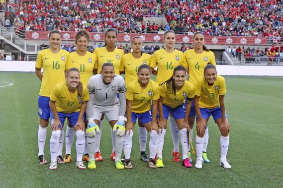 Les 11 partantes du Brésil (Patrick Woodbury, LeDroit)