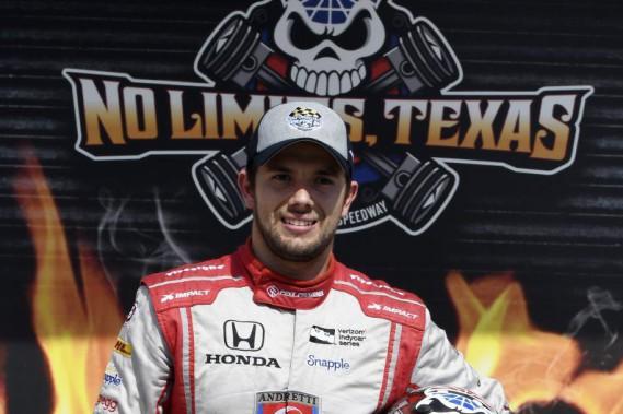 Carlos Munoz obtient la première pole de sa carrière