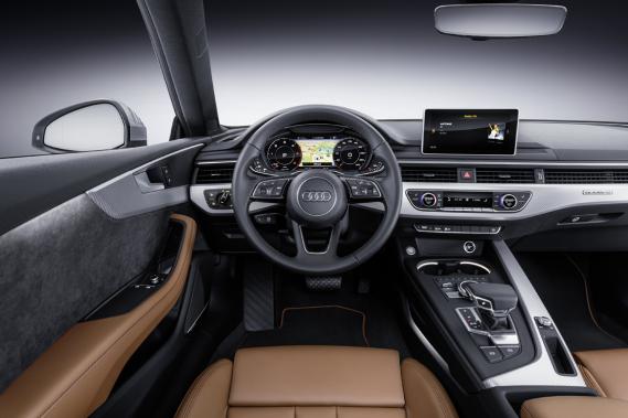 L'Audi A5 (Photo fournie par le constructeur)