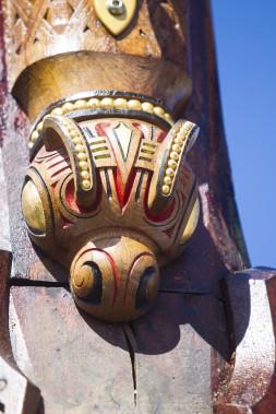 Le public peut visiter le drakkar les 16 et 17 juin de 15h à 18 h. Il est accosté près du musée maritime. (Le Soleil, Caroline Grégoire)