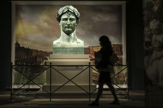 Le buste de Napoléon qui est prêté par le Musée du Louvre. (PATRICK WOODBURY, LeDroit)