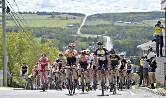 Première étape du 31e Tour cycliste de Beauce (Le Soleil, Pascal Ratthé)