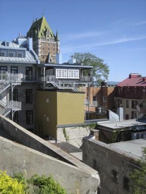 L'arrière de la maison AVANT les travaux (Fournie par Claude Malenfant)