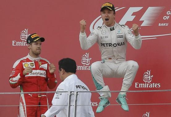 Nico Rosberg remporte le GP d'Europe
