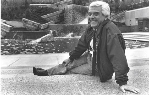 Dans le jardin Saint-Roch, en 1994 (Archives Le Soleil)
