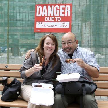 Le Ribfest peut être une opportunité de sortie de couple. (PATRICK WOODBURY, LeDroit)
