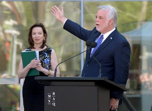 Le premier ministre du Québec, Philippe Couillard (Le Soleil, Erick Labbé)