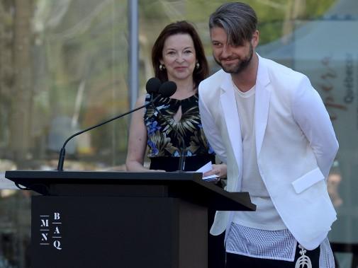 Le chanteur Pierre Lapointe est le porte-parole des festivités d'ouverture du nouveau pavillon Lassonde. (Le Soleil, Erick Labbé)