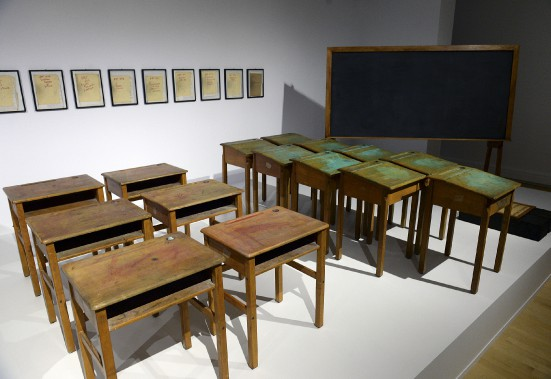«La salle de classe» d'irene F. Whittome (Le Soleil, Patrice Laroche)