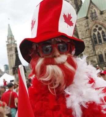 Les célébrations du 149<sup>e</sup>anniversaire de la Confédération sur la Colline du Parlement du Canada, à Ottawa. (Simon Séguin-Bertrand, LeDroit)