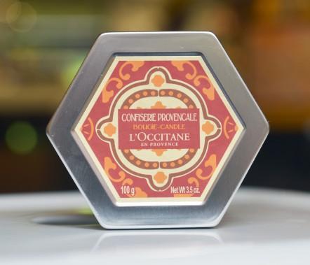 Bougie Confiserie provençale (22 $) (Le Soleil, Jean-Marie Villeneuve)