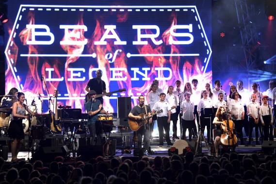 Bears of Legend à Place D'Youville (Le Soleil, Jean-Marie Villeneuve)