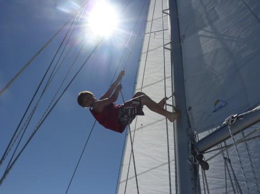 L'équipage vogue actuellement sur le Saint-Laurent en direction des Îles-de-la-Madeleine. (Fournie par Brumeetpinocchio.com)