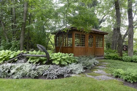Le pavillon a été baptisé Chez Maminette, le surnom donné à la mère d'Annie (Le Soleil, Jean-Marie Villeneuve)