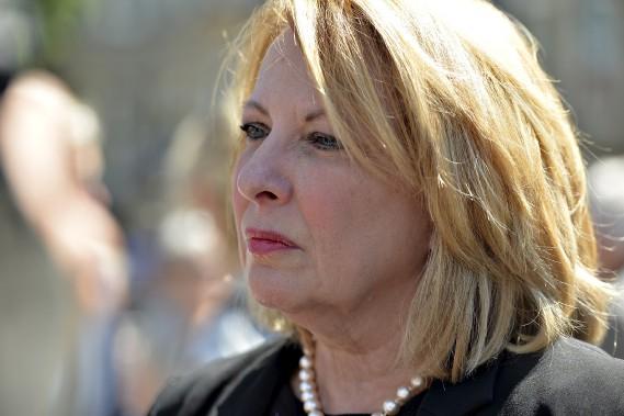 La ministre québécoise des Relations internationales et de la Francophonie, Christine St-Pierre (Le Soleil, Pascal Ratthé)