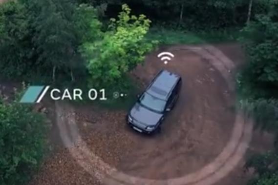 Conduite autonome: même dans le bois