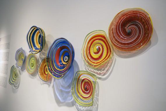 Cette oeuvre personnelle sera ensuite exposée à l'atelier Touverre. (Photo Le Progrès-Dimanche, Jeannot Lévesque)