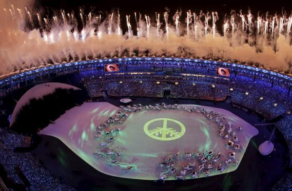 Les Jeux olympiques de Rio sont les premiers de l'histoire sur le continent sud-américain. (AP, Morry Gash)
