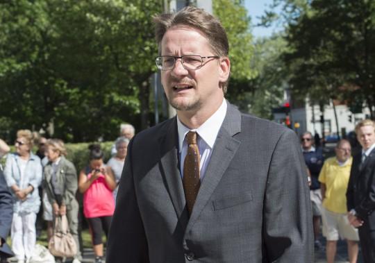 Le chef par intérim du Parti québécois, Sylvain Gaudreault (La Presse Canadienne, Paul Chiasson)