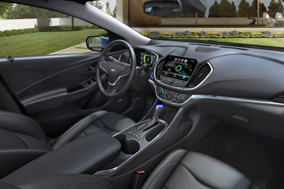 La Chevrolet Volt 2017 (Photo fournie par le constructeur)