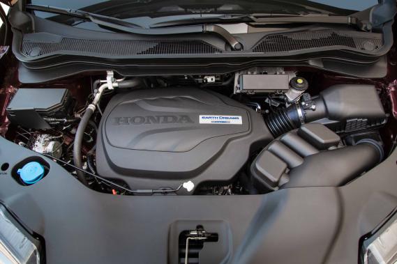Le moteur du Honda Ridgeline (Photo fournie par le constructeur)