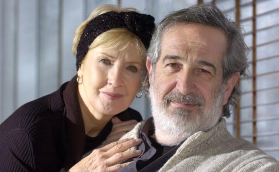 André Melançon en compagnie de sa conjointe Andrée Lachapelle en janvier 2006. (Photo Robert Mailloux, archives La Presse)