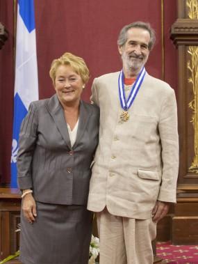 André Melançon avait été fait Officier de l'Ordre national du Québec en juin 2013. (Photo Ivanoh Demers, archives La Presse)