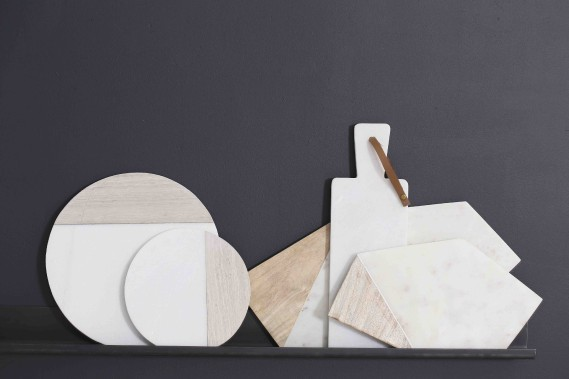 Les planches bimotifs, en rondeurs ou en angles, ont la cote chez Zone. (Anne Brun)