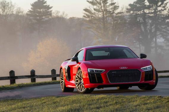 La Audi R8 (Photo fournie par le constructeur)