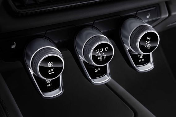 L'intérieur de la Audi R8 (Photo fournie par le constructeur)