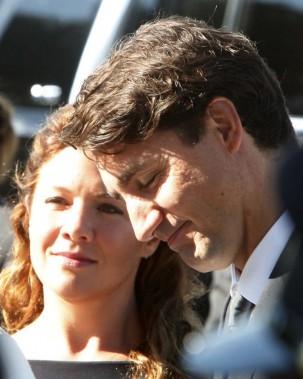 Le premier ministre, Justin Trudeau, et son épouse, Sophie Grégoire. (Simon Séguin-Bertrand, LeDroit)