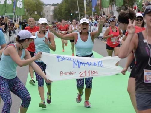 Un premier demi-marathon, ça se souligne! (Le Soleil, Yan Doublet)