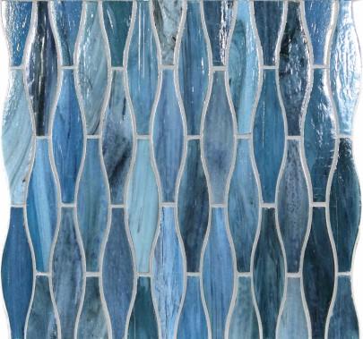 La collection Spa comporte des pièces de formes variées. (Fournie par Céragrès)